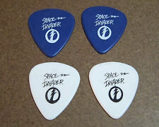 Ace Frehley – Set of two Space Invader guitar picks
