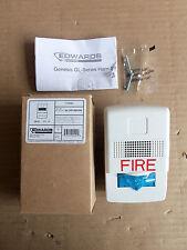 New Edwards GL1WF-HDVMC Horn/Strobe Fire Alarm