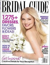 Bridal Guide Wedding Magazine Dresses Flowers Favors Reception Ideas Fashion