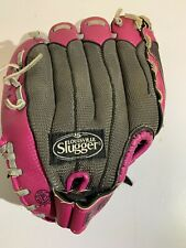 "Louisville Slugger Girls Baseball Glove Pink Right Hand Throw Diva Series 10.5"""