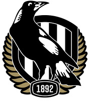 You make your own T shirt by Iron -  Iron On Transfer  -  Collingwood Magpies
