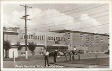 Seattle WA Ship's Service Store Real Photo Postcard rpx