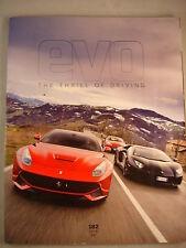 Evo magazine # 182 - Ariel Atom guide - F12 - Aventador - Vanquish - 911 - Clio