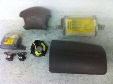 1999 Toyota 4Runner Airbag System Complete with module & clock spring & Sensors
