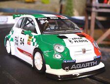 Nsr Fiat Abarth 500 Corse nº 54 en 1:32 también para carrera Evolution 800014sw