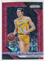 2018-19 Jerry West #/88 Panini Prizm Basketball #145 Los Angeles Lakers
