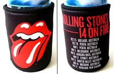 ROLLING STONES 14 ON FIRE Tour 2014 Official Can STUBBY DRINK HOLDER Beer Koozie