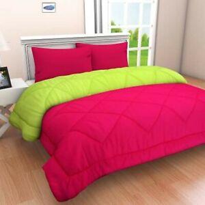 1800 Count Ultra Soft Down Alternative Reversible Microfiber Comforter 6 Pcs Set