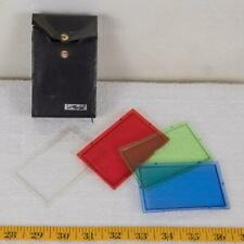 """Metz Three Color Filters & Diffuser 3-1/2 x 2-3/16"""" (90x55mm) with holder g25"""