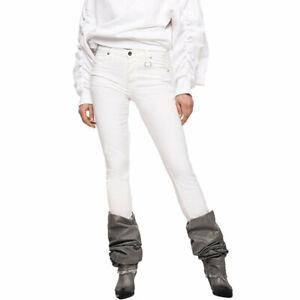 DIESEL BABHILA 086AS Womens Jeans Denim Slim Skinny Regular Waist Fit Trousers