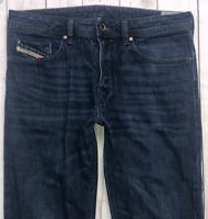 Mens DIESEL Buster Jeans W32 L32 Blue Regular Slim Tapered Wash 0823K
