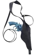 COWBOY HOLSTER AND PLASTIC TOY GUN GANGSTER WILD WEST 20s FANCY DRESS ACCESSORY