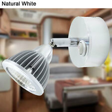 12v RV Boat Interior Cabin Light Natural White- Vintage Reading Lamp with Switch