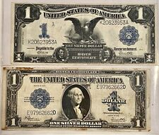 1899 & 1923- Large Size $1 Silver Certificates, See Other Notes, Coins & Gold