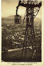 CPA - Carte postale - France - Grenoble - Le téléphérique de la Bastille(CPV164)