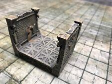 NEW Dwarven Forge Painted Resin Den of Evil 2 x 2 Short Passage Tile D&D
