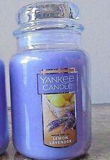 Yankee Candle  Lemon  Lavender 1 Single  22 oz   NEW Free Ship
