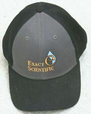 New Era Black Gray Baseball Hat One Size Fits All Snapback Exact Scientific Logo