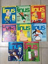 LINUS LOTTO 8 RIVISTE DI FUMETTI E D'ALTRO 1992