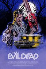 The Evil Dead Alternative Movie Poster Art by Paul Mann #/100 NT Mondo