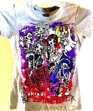 Monster High Lagoona Draculaura Cleo Clawdeen Frankie Top Tee Shirt Rainbow colo