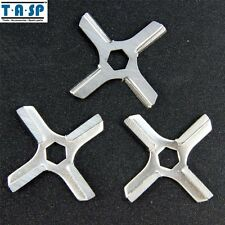 3PC #5 Meat Grinder Blade Knife fit Moulinex HV3/KRUPS F402 MS-4775250 Parts