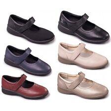 Padders SPRITE Ladies Womens Super Extra Wide + Plus EEE/EEEE Touch Fasten Shoes