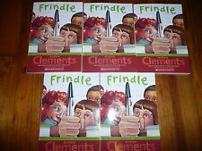 NEW Lot 5 copies FRINDLE Andrew Clements GUIDED READING Lit Circle
