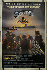 SUPERMAN II 1981 ORIGINAL 40X60 MOVIE POSTER CHRISTOPHER REEVE,GENE HACKMAN