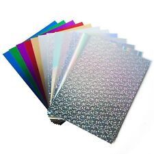 A4 Mirror Card & Holographic - luxury metallic products Choice of colours A3