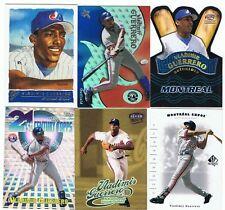 Vladimir Guerrero nine  card lot,Montreal Expos,LA Angels,of,Hall of Fame,NM-MT