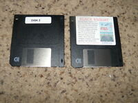 """Black Knight game on 3.5"""" floppy disks PC MS-DOS"""