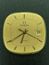 Vintage Omega Cal. 1430  Quartz 28mm Day Watch Dial Gold