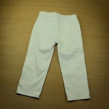 NYDJ Not Your Daughter Jeans Women's Crop Capri White Denim Wash Size 6 (30x 21)