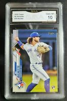 2020 TOPPS SERIES 1 BO BICHETTE ROOKIE RC #78 GMA 10 GEM MINT - psa comp
