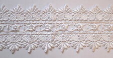 1mtrs - Guipure White Lace Trimmings 9cm