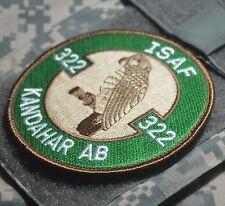 KANDAHAR POLO CLUB PRO-MEMBER RNLAF 322nd Sqn Polly Parrot F-16 burdock Insignia