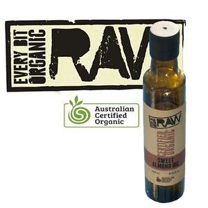 Sweet Almond Oil 250ml by Every Bit Organic Raw Range