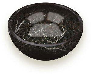 """HAND CARVED MARBLE STONE BOWL 5""""/13cm Soap Tray Keys Coins Holder Food Dish"""