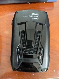 Whistler CR90 High Performance Laser Radar Detector: 360 Degree Protection