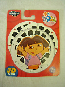 New Original Package - Dora the Explorer Fisher-Price 3D View Master 3 reel set