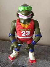 "Vintage Playmates 1992 GIANT TMNT BASKETBALL DONATELLO  FIGURE 13""Michael Jordan"