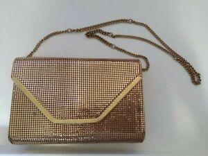 Vintage Glomesh Crossbody Bag By Glo International with original box