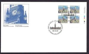 Canada    # 1165 LRpb   Parliament Buildings    Brand New 1988 Unaddressed Issue