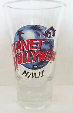 PLANET HOLLYWOOD  MAUI  FLUTED  3 1/2  INCH SHOT GLASS