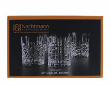 Nachtmann Highland Whiskybecher Tumbler Whiskyglas Whiskey Glas 4er Set