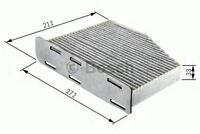 BOSCH ENGINE CABIN / POLLEN FILTER OE QUALITY REPLACEMENT 1987432097