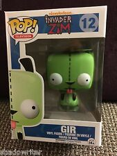 FUNKO POP INVADER ZIM GIR #12 EXCLUSIVE ORIGINAL BLUE BOX RARE RETIRED MINT USA