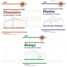 Edexcel International GCSE Chemistry Biology Physics 3 Books Collection Set NEW