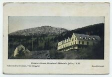 NH ~ Monadnock Mountain House JAFFREY New Hampshire c1910 Cheshire Co Postcard